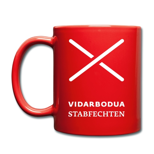 Logo vertik vidarbodua fett - Tasse einfarbig