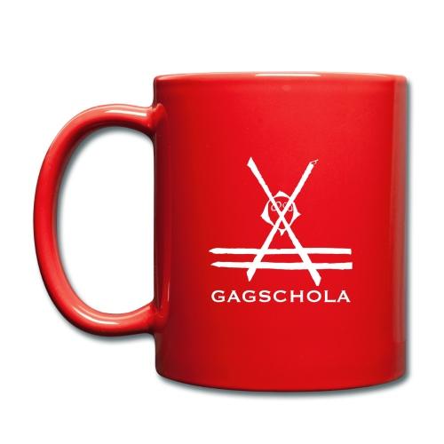 Logo gagchola blanc png - Mug uni