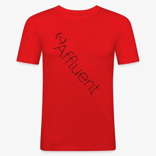Affluent Twisted T Shirt - Men's Slim Fit T-Shirt