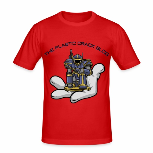 Plastic Crack Blog - Men's Slim Fit T-Shirt