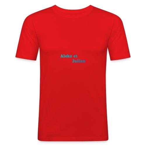 Notre logo - T-shirt près du corps Homme