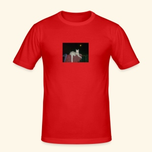 SPECIAL EDITION Demon Cat DESIGN - Men's Slim Fit T-Shirt