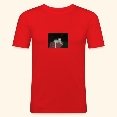 SPECIAL EDITION Demon Cat DESIGN - Men's Slim Fit T-Shirt