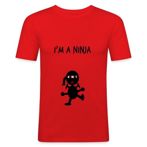 IM A NINJA - Men's Slim Fit T-Shirt