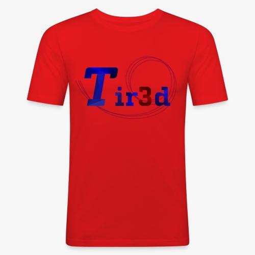 Tir3d - Männer Slim Fit T-Shirt