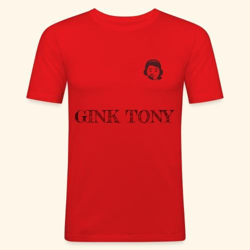 Gink Tony Merchandising 2 - Männer Slim Fit T-Shirt