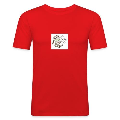 Genji I NEED HEALING - Männer Slim Fit T-Shirt