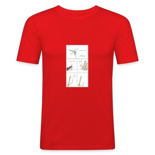 test test test test test test - Men's Slim Fit T-Shirt