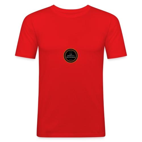 Aberrent Founders Logo - Men's Slim Fit T-Shirt