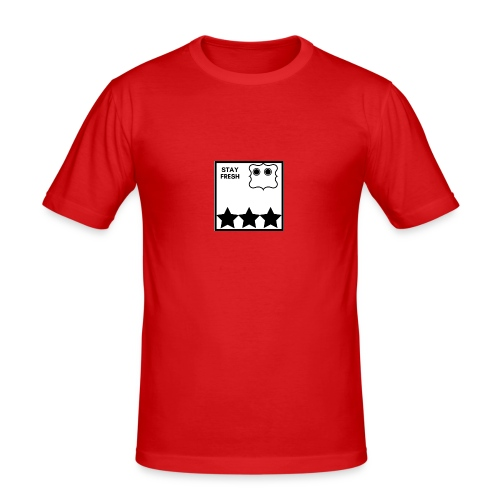 Stay Fresh - Herre Slim Fit T-Shirt