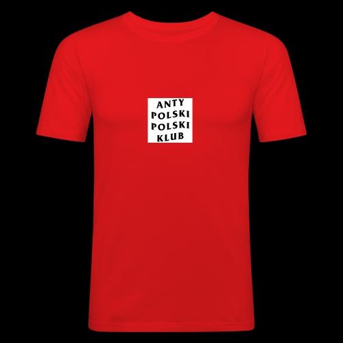 APPK SQUARE - Obcisła koszulka męska