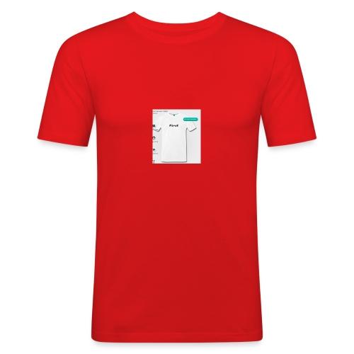Zuerst Gesegnet - Männer Slim Fit T-Shirt