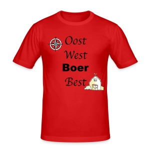 Oost West Boer Best - slim fit T-shirt