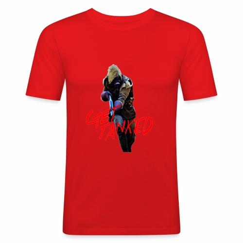 GET TANKED - Slim Fit T-shirt herr