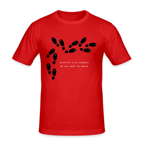 do you want to dance - Slim Fit T-shirt herr
