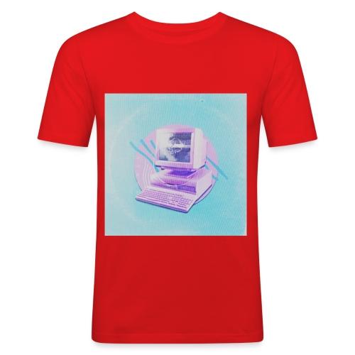 virtual - Männer Slim Fit T-Shirt