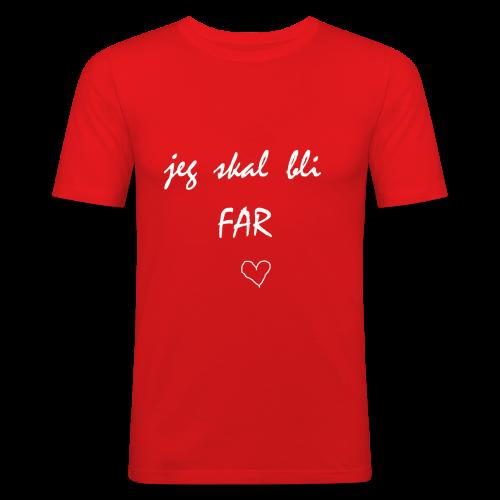 Far Collection - Slim Fit T-skjorte for menn