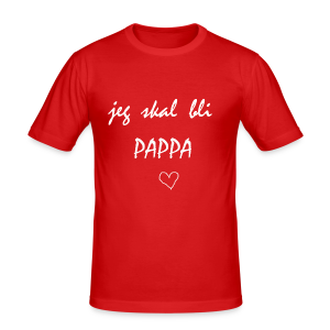 Pappa Collection - Slim Fit T-skjorte for menn