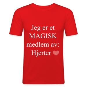 MAGISK Medlem - Slim Fit T-skjorte for menn