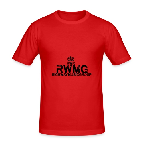 RWMG_Black 2 - slim fit T-shirt