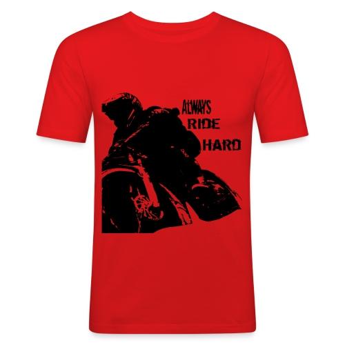 Alwaysridehard - Männer Slim Fit T-Shirt