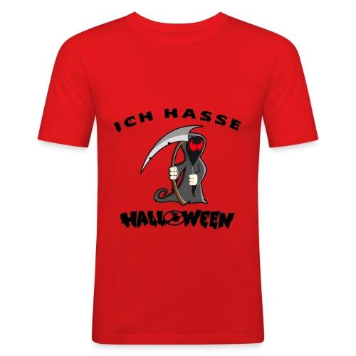 Für alle die die Halloween nix abgewöhnen können - Männer Slim Fit T-Shirt