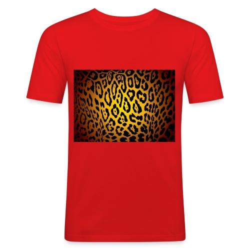 t-shirt léopard - T-shirt près du corps Homme