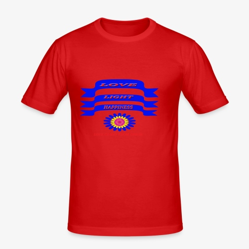 HAPPY - Men's Slim Fit T-Shirt
