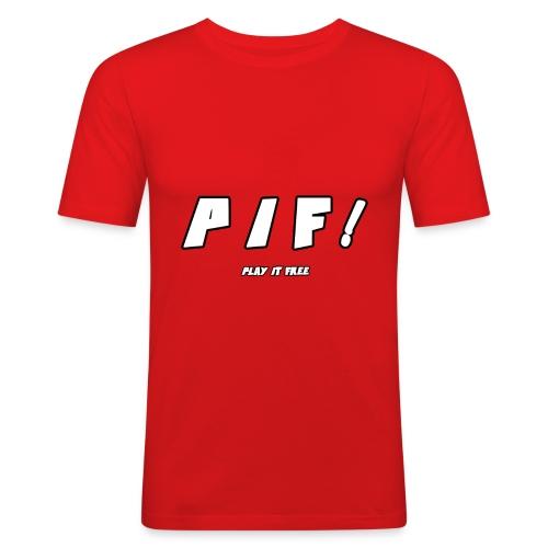 PIF ! - T-shirt près du corps Homme