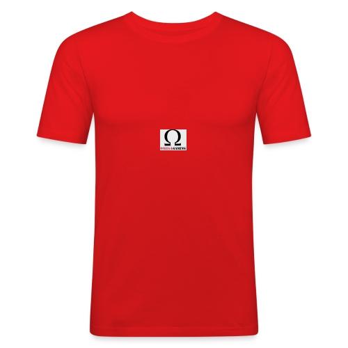 OMEGAGAMING Logo - Men's Slim Fit T-Shirt