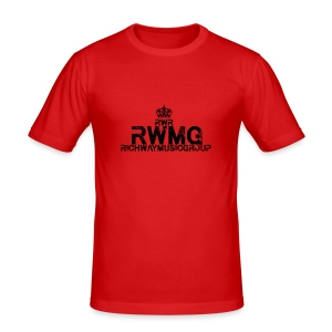 RWMG_Black 2 - slim fit T-shirt