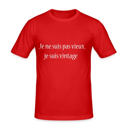 Vintage Attitude - T-shirt près du corps Homme
