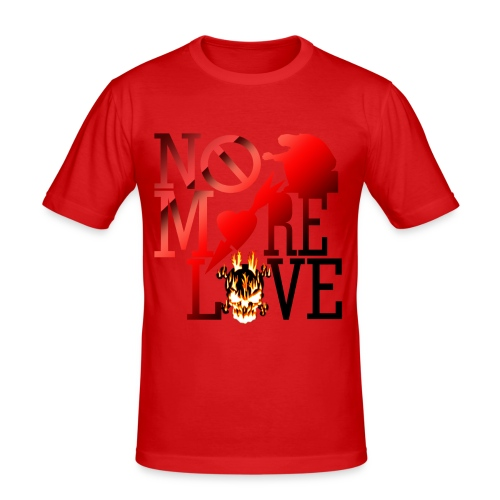get no love - Men's Slim Fit T-Shirt