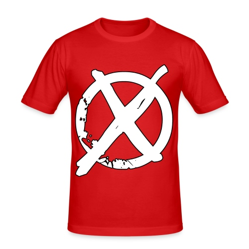 Tony Cole - Modern Straight Edge - Men's Slim Fit T-Shirt