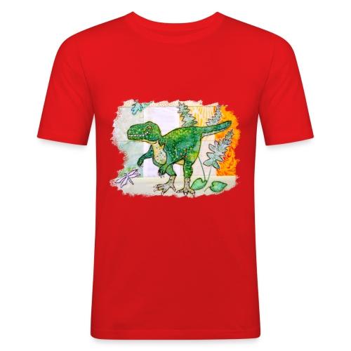 T rex - Men's Slim Fit T-Shirt