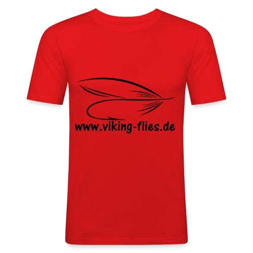 Viking Flies - Männer Slim Fit T-Shirt