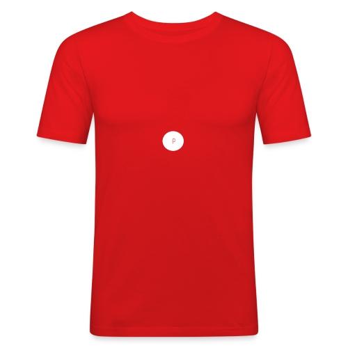 Paat logo - Männer Slim Fit T-Shirt