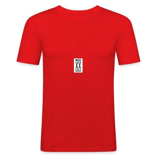 MUSEO_XX_SECOLO_LOGO - Maglietta aderente da uomo