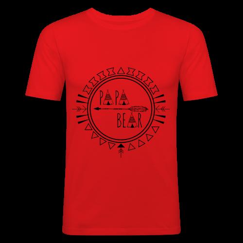 Papa Bear - Männer Slim Fit T-Shirt