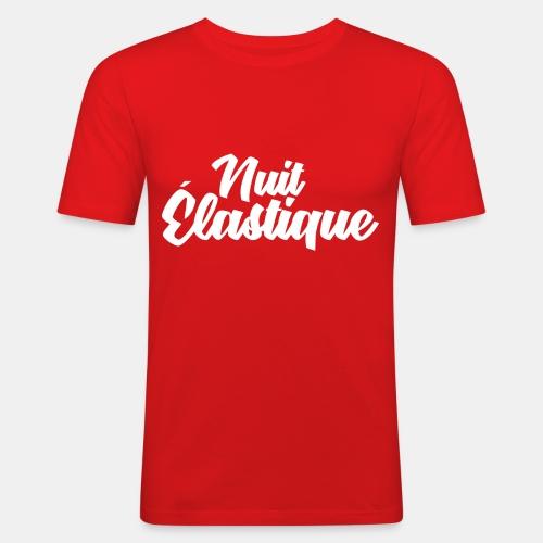 Logo Nuit Élastique - T-shirt près du corps Homme