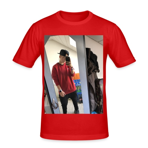 1A223ED0 3B49 4734 98EA 53850B5092AA - Männer Slim Fit T-Shirt