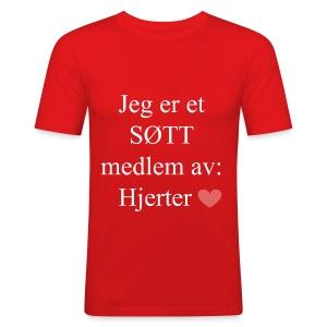 SØTT Medlem - Slim Fit T-skjorte for menn