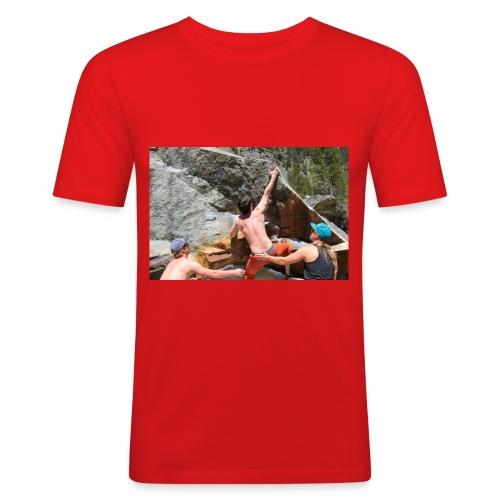 Klettern - Männer Slim Fit T-Shirt