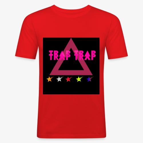 Trap Trap - Men's Slim Fit T-Shirt