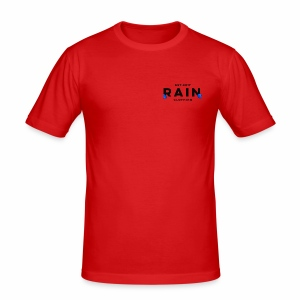 Rain Clothing Tops -ONLY SOME WHITE CAN BE ORDERED - Men's Slim Fit T-Shirt
