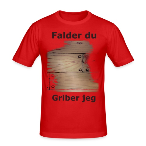 Gulvet Griber - Herre Slim Fit T-Shirt