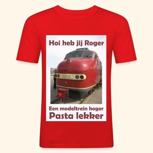 hoi heb jij roger - slim fit T-shirt