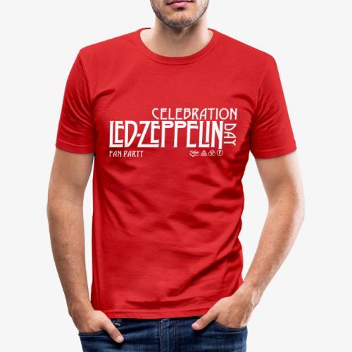 LZ Fan Celebration Day White - Maglietta aderente da uomo