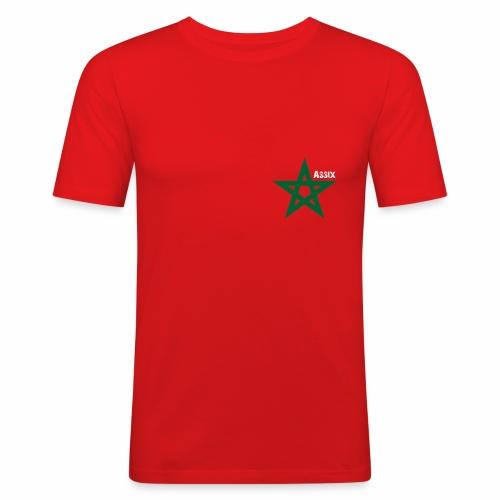 star marocaine - T-shirt près du corps Homme