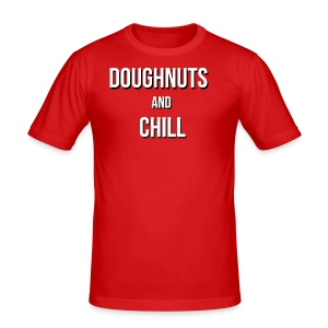 Doughnuts and chill - Men's Slim Fit T-Shirt